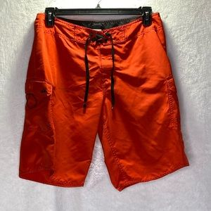 Quiksilver Board Shorts Red